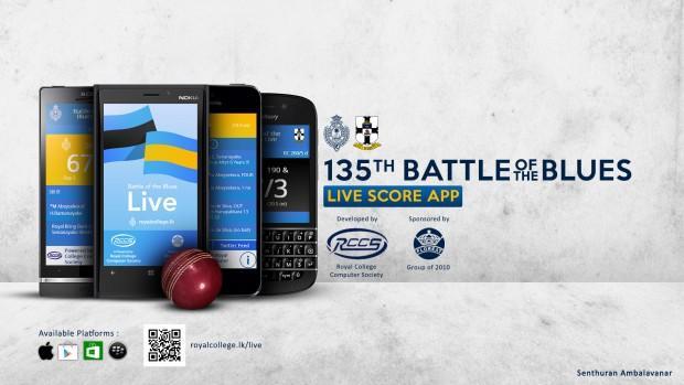 135th Battle of the Blues Live Score App