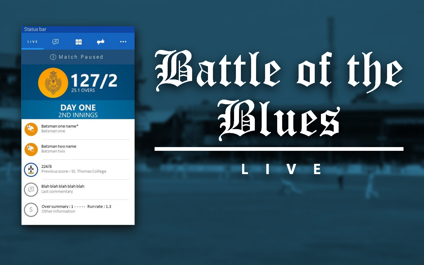 Battle Of The Blues Live 2016