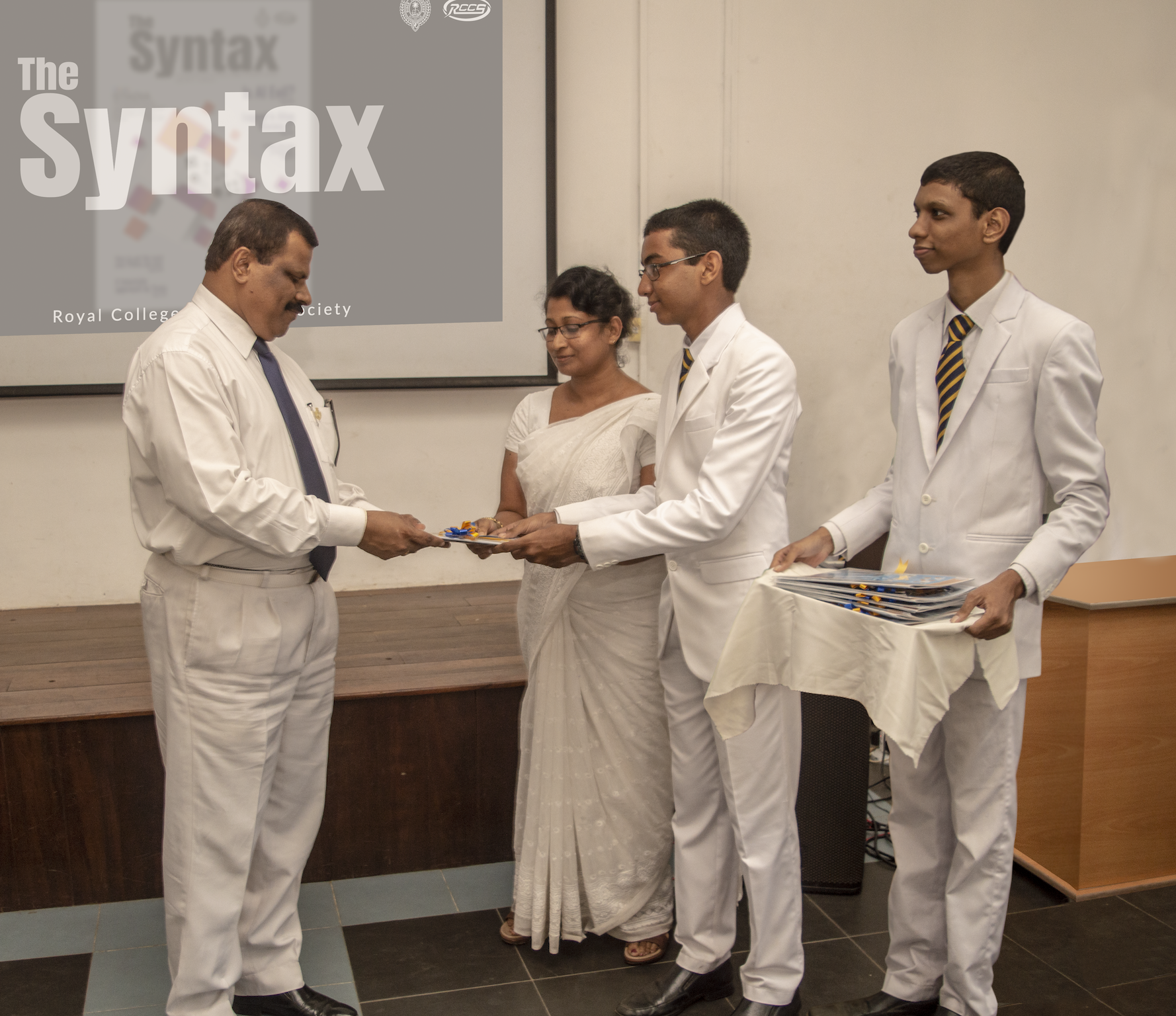 The Syntax Presented to The Principal